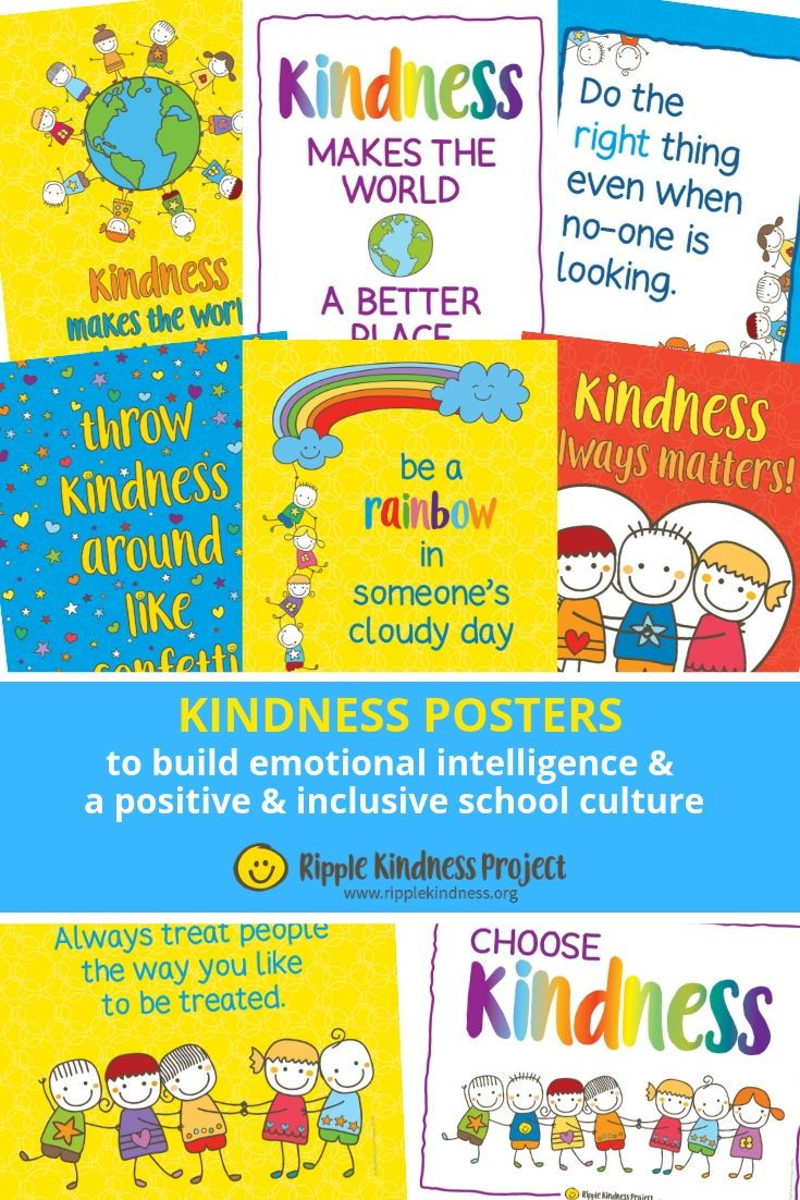 Kindness Curriculum Shown To Improve >> Build Emotional Intelligence And Nurture A Culture Of Kindness