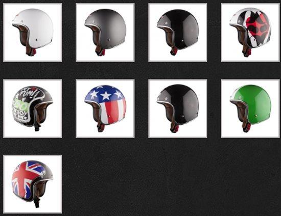 Lovely LS Bobber Helm Modell Modelle Designs