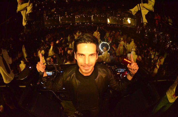 Le DJ Canitrot aux platines du TheatrO #SISMIX #Winamax #Poker
