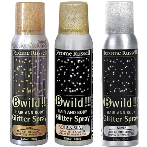 Best glitter hair spray. Totally smells like a stripper, but not surprisingly guys like that. haha. Super glittery for hair or body :)