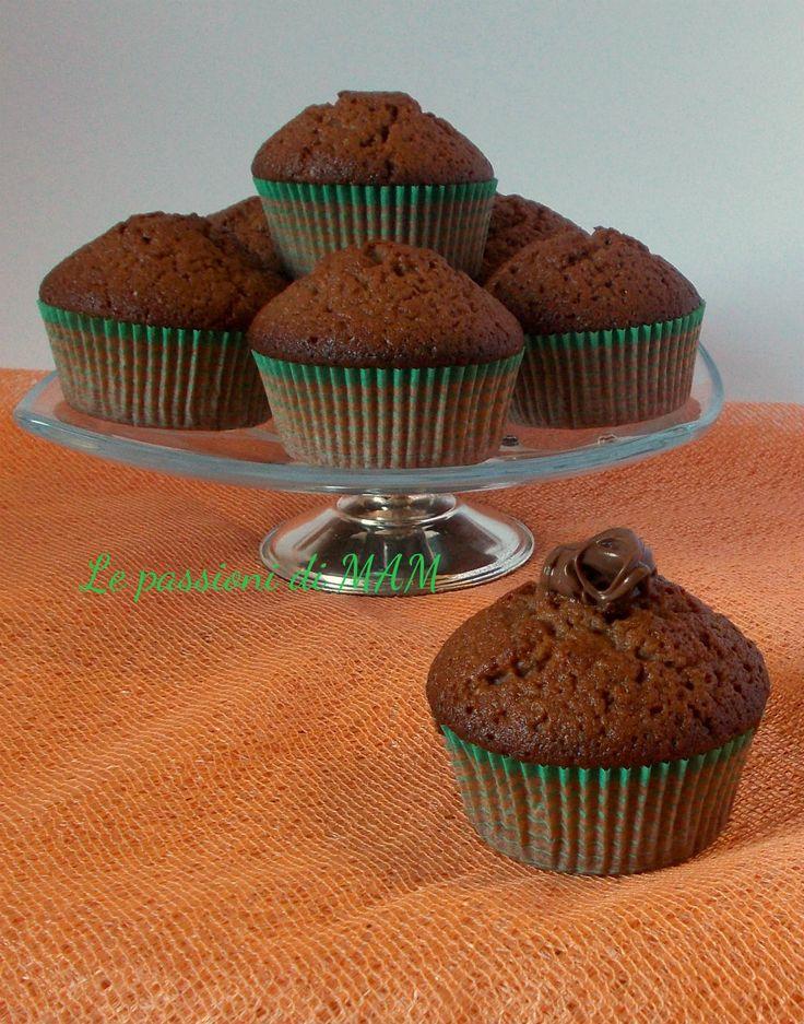 muffin di albumi e nutella
