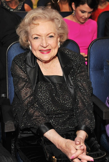 I love Betty White's joy for life, love of all, and feisty sense of humor!  Such an inspiration.