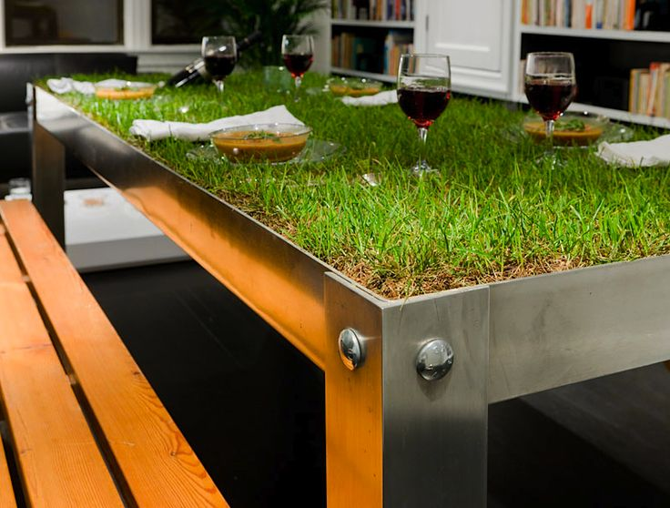 indoor picnic: Haikocornelissen, Idea, Green Tables, Outdoor Tables, Picnics Tables, Haiko Cornelissen, Indoor Picnics, Picnyc Tables, Grass Tables