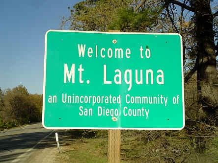 #LagunaBeach not... Mount #Laguna, San Diego, #California