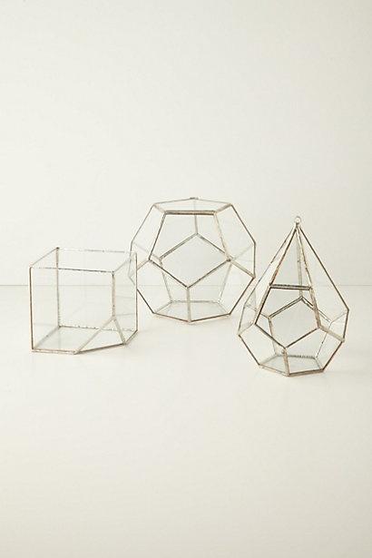 Geometric Table Decorations