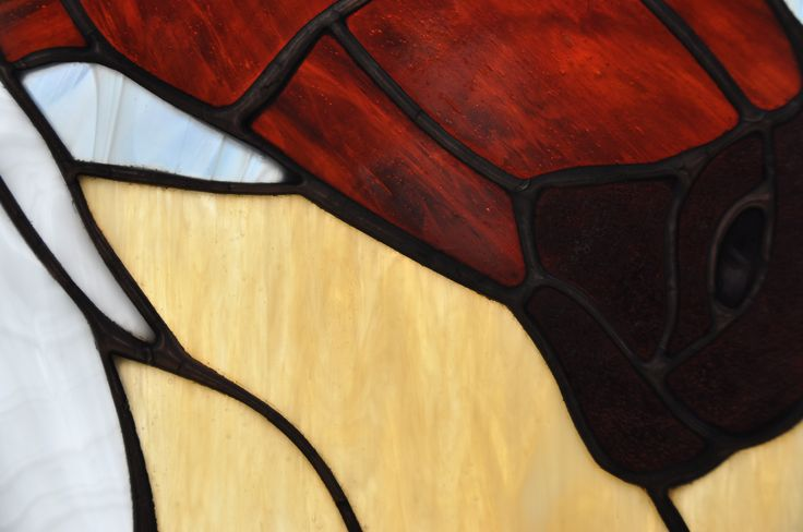 Paarden ~ Stained Glass ~ RannDago ~ Horses ~ Detail