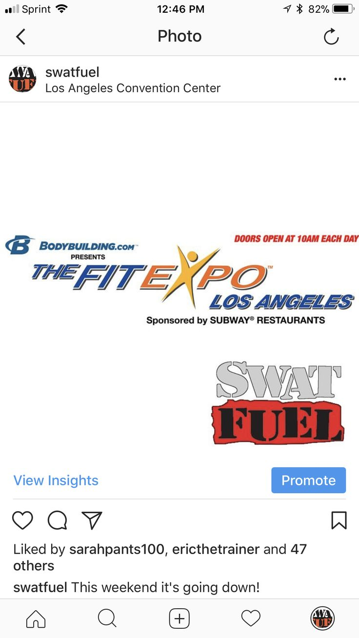 #losangeles are you ready for #thefitexpo? #fitexpo is going DOWN this #weekend and we'll be the4e! Come by and say hello! . | swatfuel.com/?utm_content=buffer7e907&utm_medium=social&utm_source=pinterest.com&utm_campaign=buffer | swat fuel (link in bio) . #9mm #9mmPlusP #40Cal #44Mag #swat #swatbody #swatfuel #body #sweat #celebrity #hollywood #fit #fitness #fitfam #fitchicks #gym #gymlife #exercise #sotg #studentforlife ᐧ