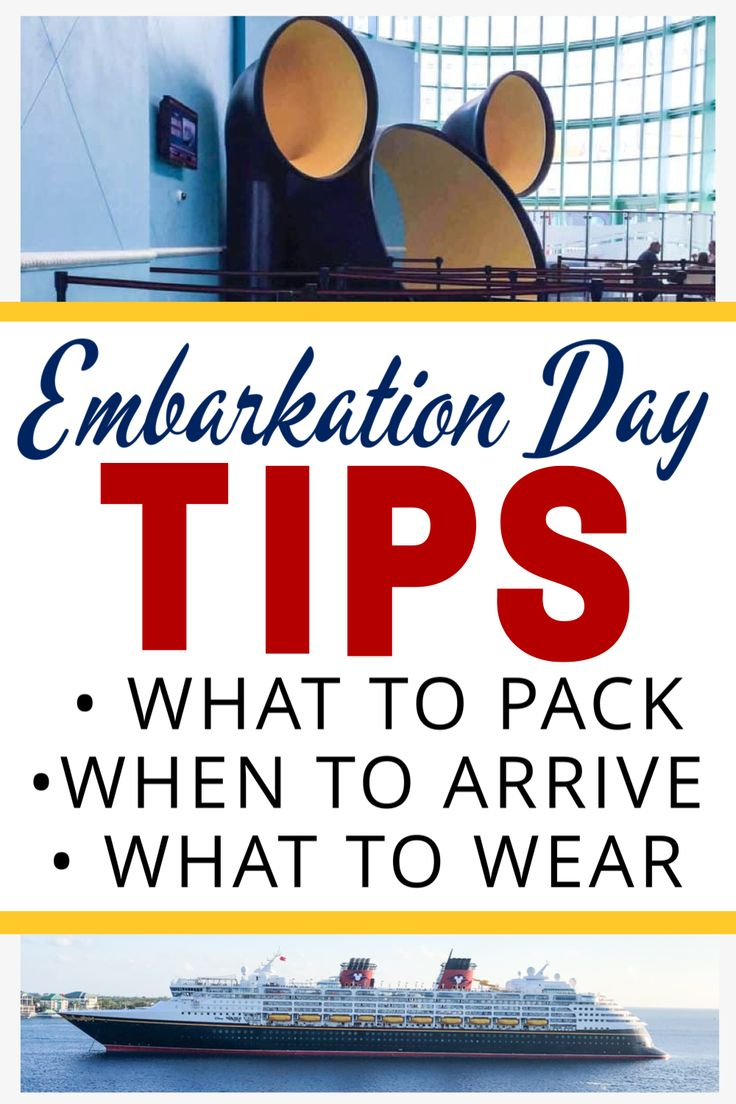 Disney cruise embarkation day tips in 2020 disney cruise