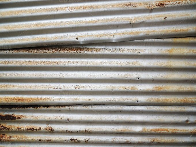 Check out Metal Corrugated Sheet Rustic Decay by TSOBG on Creative Market