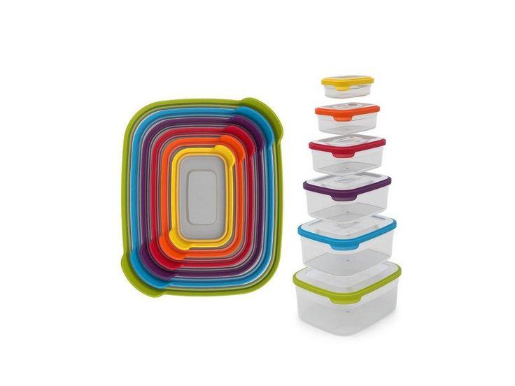 Kompaktní a originální sada nádob JOSEPH JOSEPH Nest™ Storage 6. Obsahy 230ml…