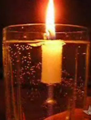 How to Make a Candle Float in a Glass of Water - Yahoo! Voices - voices.yahoo.com