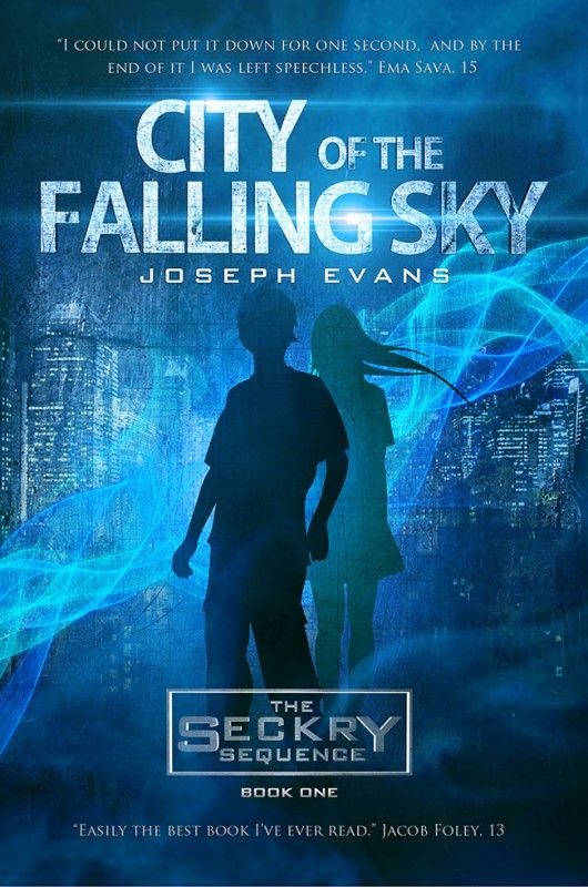 City of the Falling Sky by Joseph Evans on StoryFinds -#free #science fiction adventure - fans of #ender's game will love this fast-paced futuristic novel