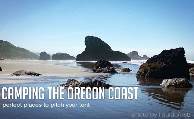 Camping on the Oregon Coast has always been one of my favorite things to do growing up in Oregon. If you're looking for the perfect place to take the kids, or just need a nice relaxing getaway, there is never a bad time to find a place to pitch a tent in the Pacific Northwest. Keep in mind a lot