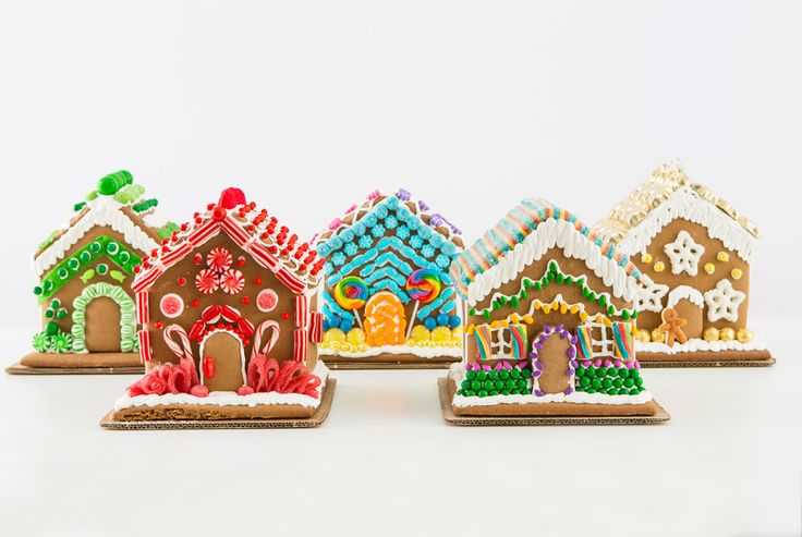 Make your own gingerbread house this holiday season.