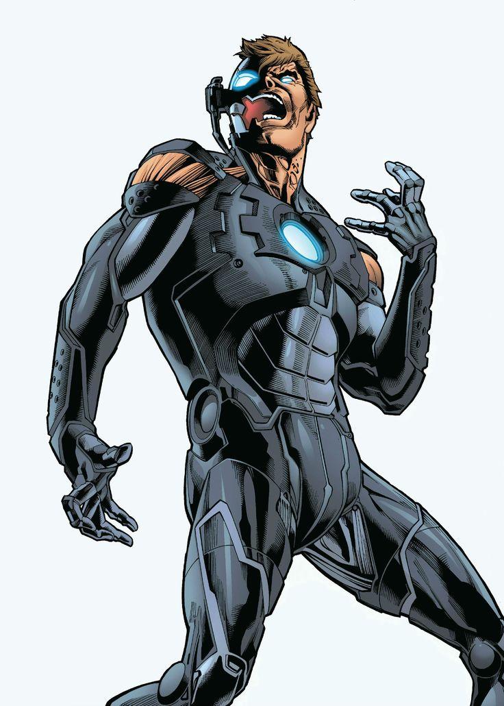 Ultron / Hank Pym by Joe Bennett