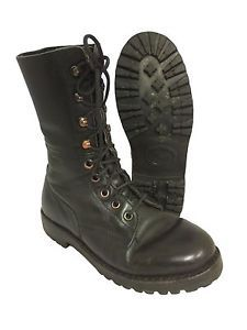 German/Austrian Unlined Vintage Paratrooper Boot Para Boots. Army Surplus