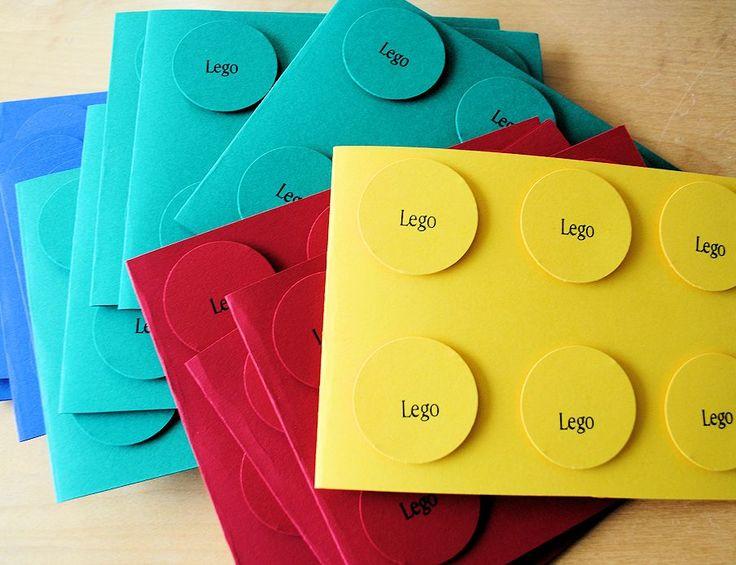 printable lego invitations | LEGO Birthday Party Ideas for Boys