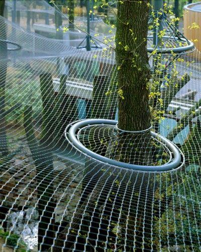 Burger Zoo - Leopard & Jackal Enclosure » Ronstan Tensile Architecture