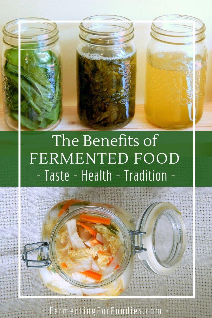 Benefits Of Fermented Food Ferment Pinterest Fermented Foods