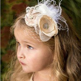 The Penelope Flower Girl Headband