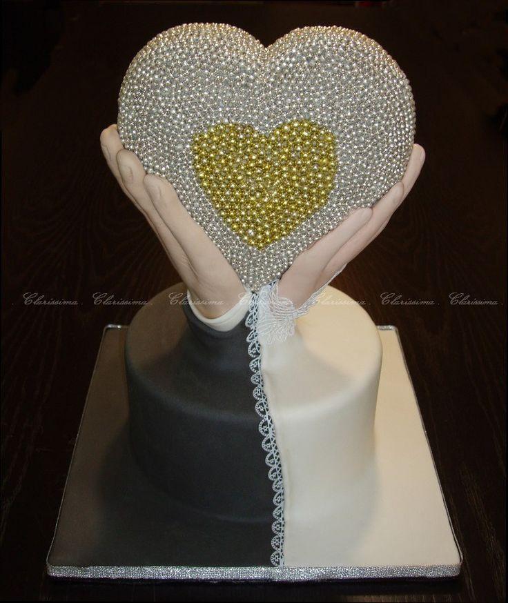 Wedding cake - Bolo de casamento