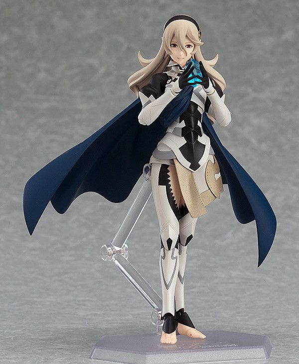 The Crux of Fate.From the Nintendo 3DS game Fire Emblem Fates comes a figma of the main playable character in her female form - Corrin!  Using the smooth yet posable joints of figma, you can act out a variety of different scenes. Flexible plastic is used for important areas, allowing proportions to be kept without compromising posability. She comes with both a gentle smiling face plate as well as ... #tokyootakumode #figure #Fire_Emblem_Series