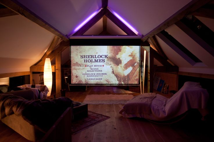 Snuggle up and watch a great film in the cinema room at Red Kite Barn    Self catering luxurious holiday cottage, part of the exclusive Sheepskinlife collection    Enquire today  www.sheepskinlife.com
