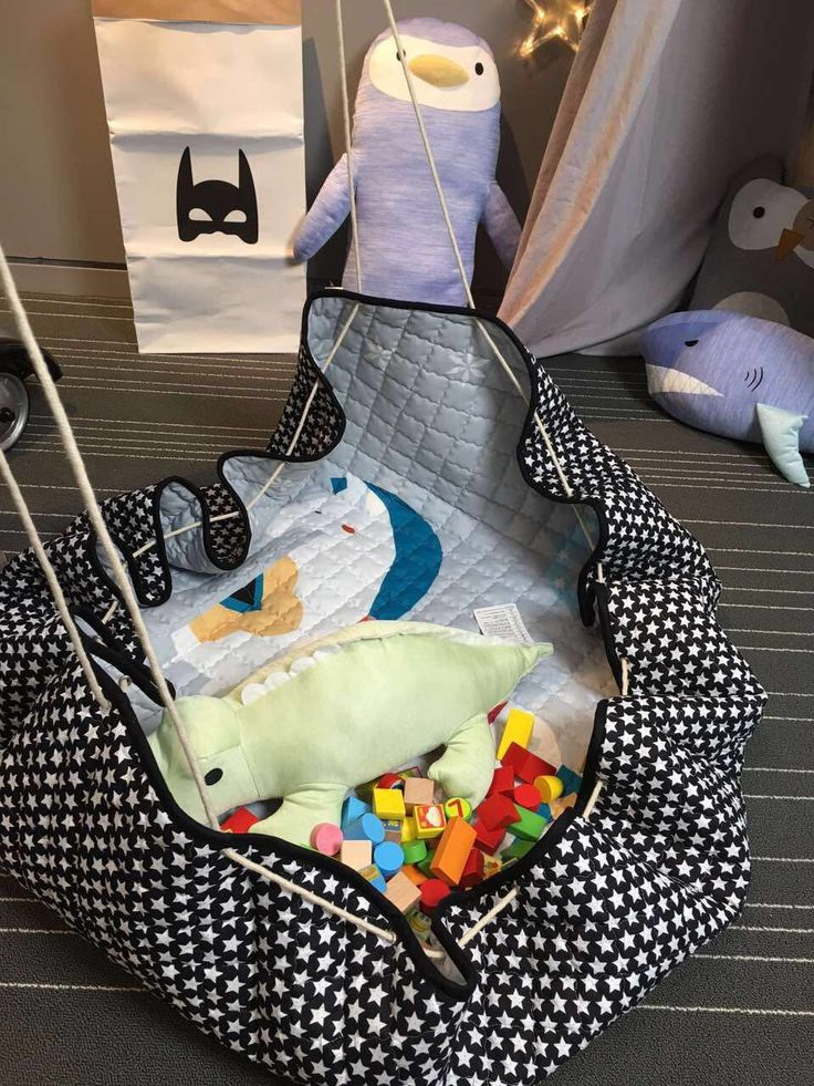 150 см многофункциональный ребенка играть мат Playmat детские игрушки сумка для хранения нескользящей нижней Портативный Carry игры Коврики номер Decor коврик