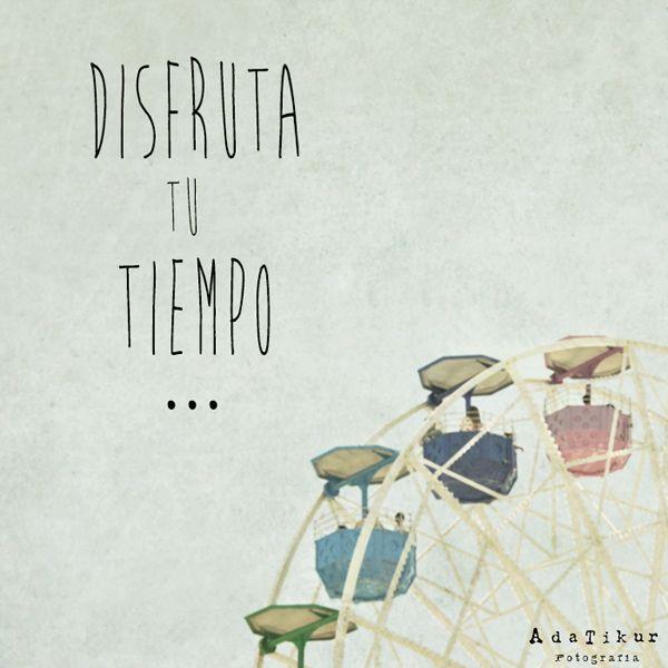 Entre evento y evento intentaremos disfrutar del tiempo libre...  Enjoy! http://adatikur.com