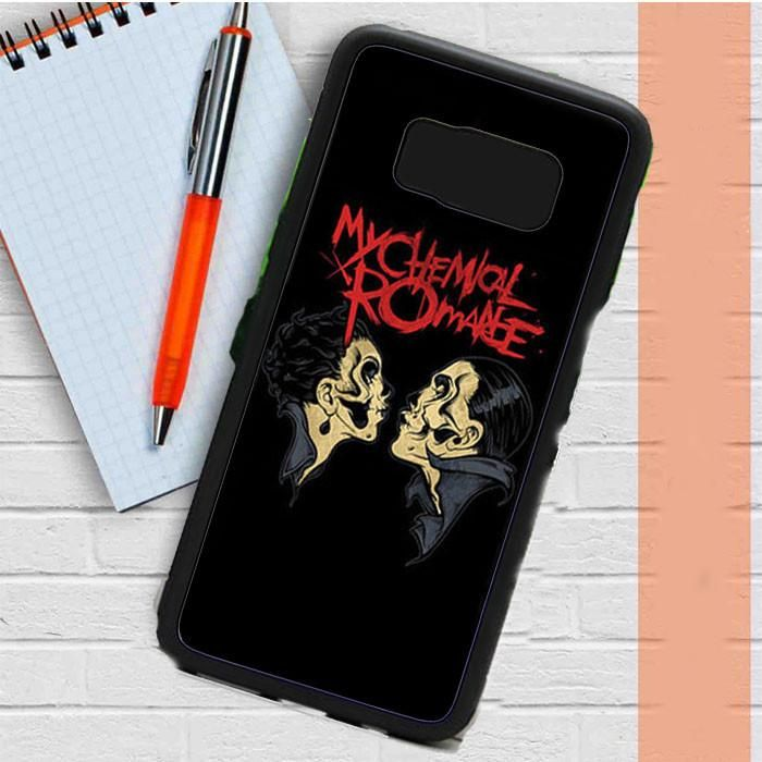 My Chemical Romance Kisses Logo Samsung Galaxy S8 Plus Case Dewantary