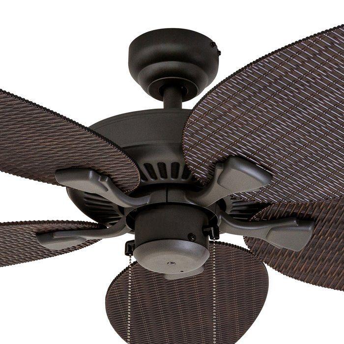 48 Kalea 5 Blade Outdoor Ceiling Fan Outdoor Ceiling Fans Ceiling Fan Ceiling Fan Makeover