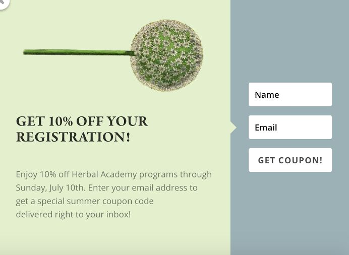Best 94 herbal academy coupons our favorites images on pinterest 10 off herbal classes by the herbal academy online herbalist training programs fandeluxe Gallery
