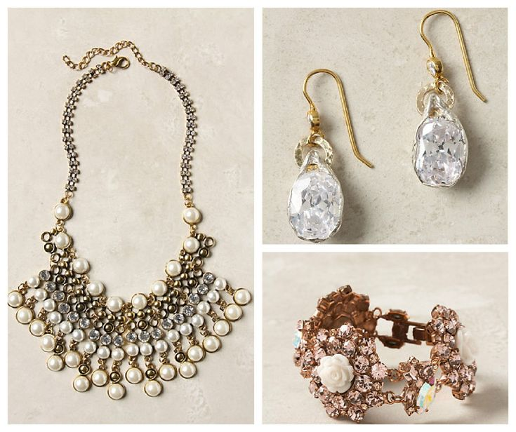 Jewelry For A Vintage Style Wedding - Rustic Wedding Chic - Anthropologie