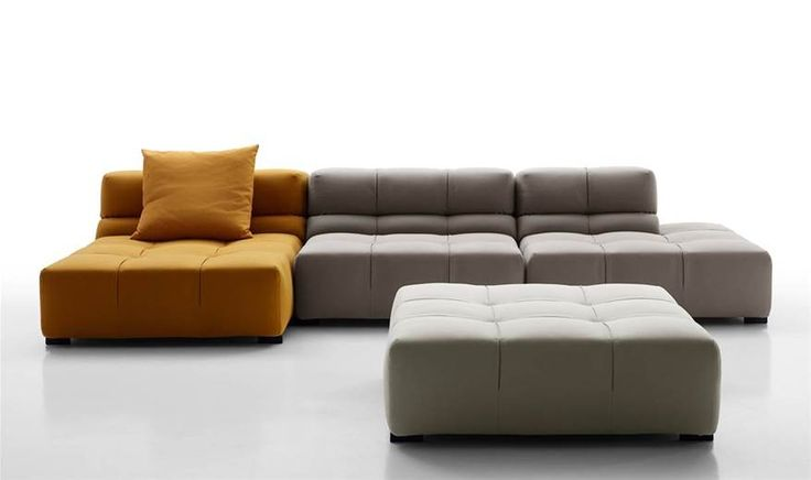 Sofa: TUFTY-TIME 15 - Collection: B&B ITALIA - Design: Patricia Urquiola