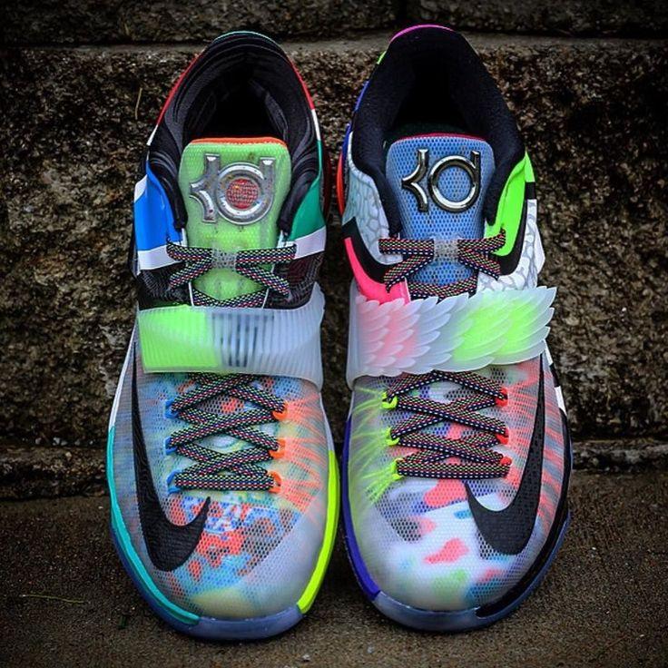 "Nike KD 7 ""What The"" | Available at kickbackzny.com."
