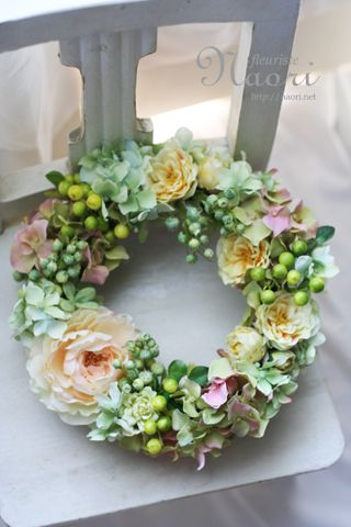145...Beautiful soft colors for a spring wreath