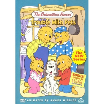 Berenstain Bears Trouble With Pets DVD 2495