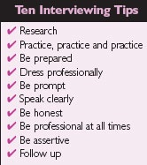10 interviewing tips #CharterSuccess #Career