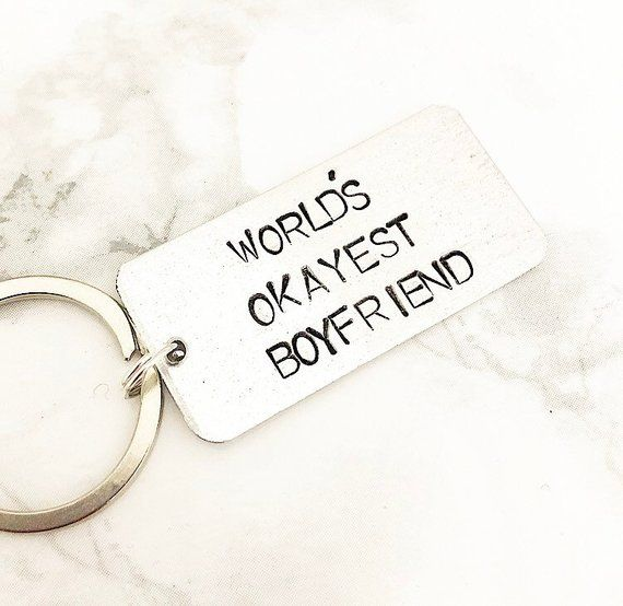 You/'re My Significant Otter Keyring Key Chain Funny Valentines Day Girlfriend