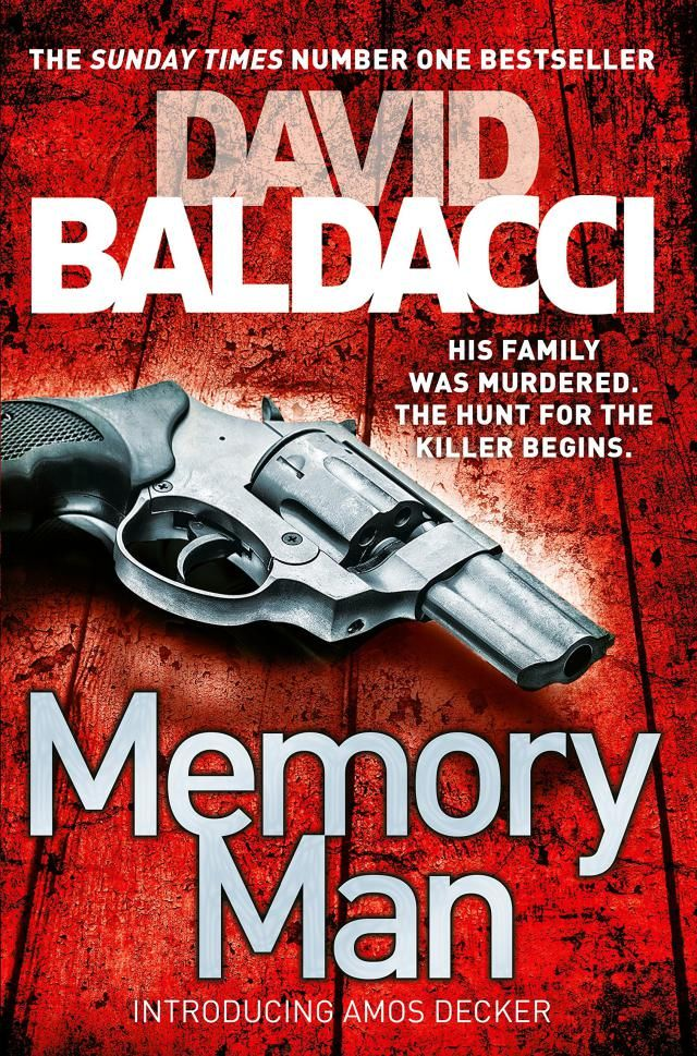 Have time for one book this year? Make it Memory Man by David Baldacci: Memory Man by David Baldacci