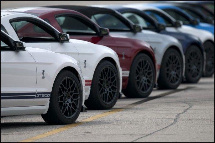 2013 Gt500 Wheels