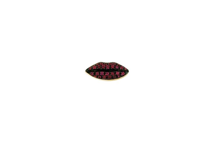 lips stud - Delfina Delettrez