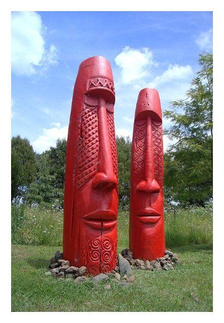 'Tuitagaloa and Rongo' by Fatu Feu'u.
