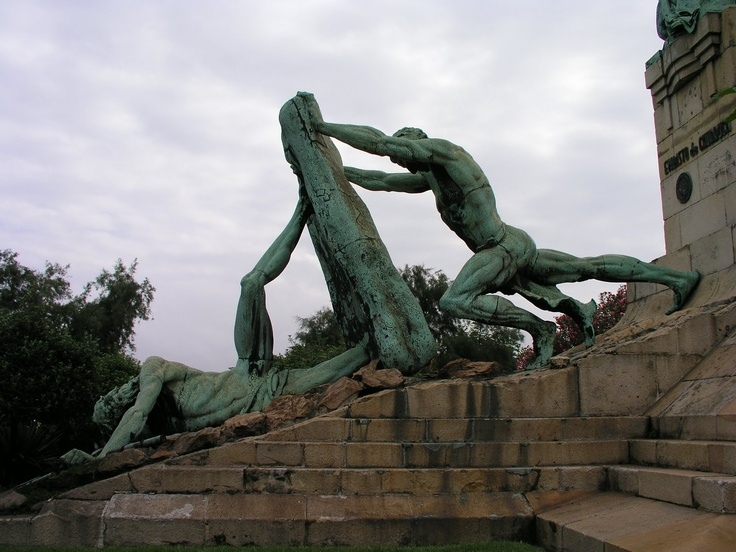 Bizkaia, Getxo, las arenas, Monumento Churruca