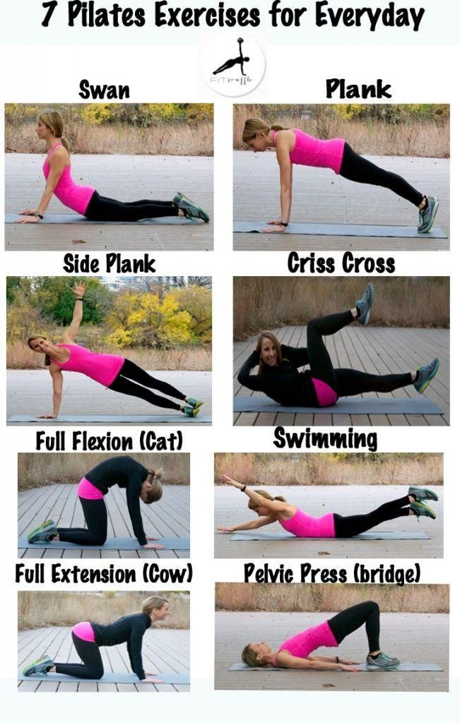 This is great for tightening and flattening your abs. No useless crunches, and can be done whenever you have a few minutes.