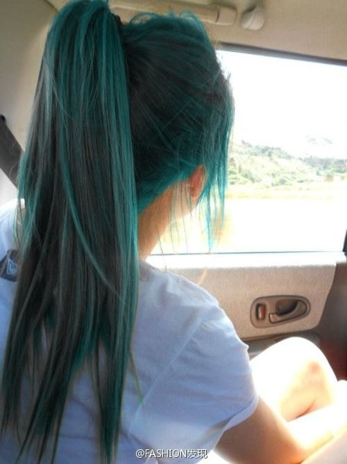 I want hair this color