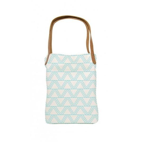 Aqua Tipi - Organic Canvas Tote - Amour Vert   eco-apparel via Polyvore