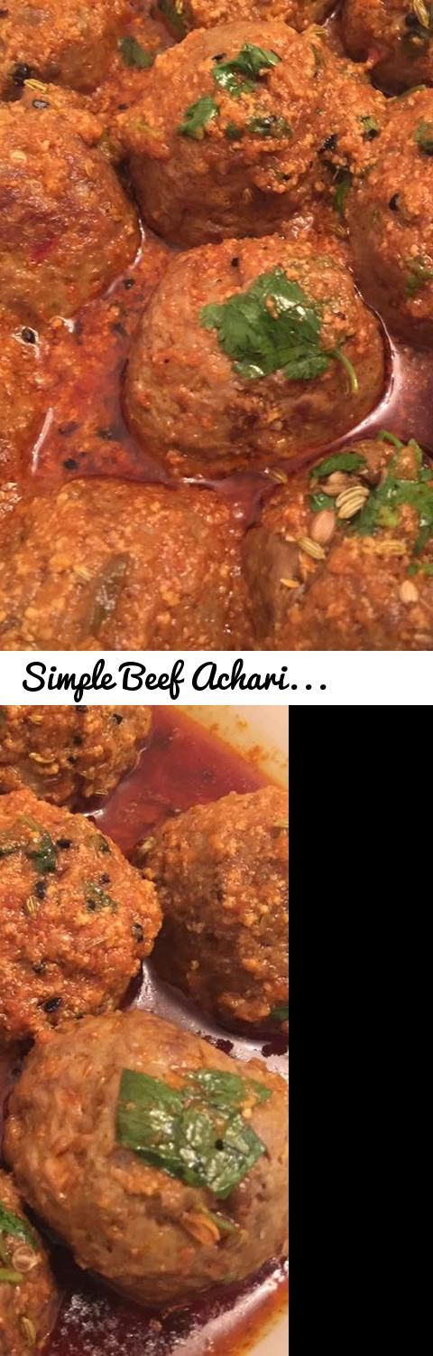 Simple Beef Achari Kofta Recipe By Sehar Syed (Beef Achari kofta Recipe urdu hindi)... Tags: beef, achari, kofta, recipe, beef achari kofta urdu hindi, beef kofta urdu recipe, achari kofta urdu hindi, simple recipe urdu hindi, #Simple, #Beef, #Achari, #Kofta, #Recipe, #Urdu, #Hindi, #Spicy, #Achari #Kofta #Recipe #Urdu #Hindi, beef achari kofta, kofta recipe, dinner recipe, indian food, masala tv, achari kofta recipe in hindi, masala recipe, aappa recipe, desi food, pakistani food, spicy…