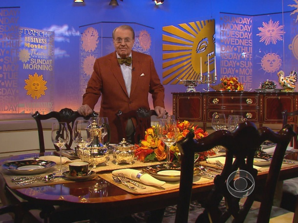 CBS Sunday Morning - little slices of Americana ... learn something new every week.