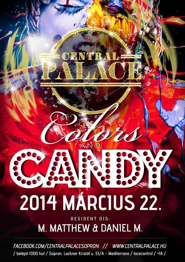Colors&Candy flyer design by darellart.hu